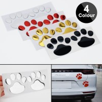 Стикер за автомобил 3D лапички